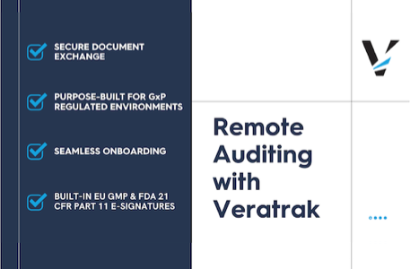 Read more about the article Remote Auditing: How can the life sciences supply chain adapt?