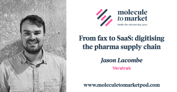 Read more about the article Veratrak CEO, Jason Lacombe, Discusses the Pharmaceutical and Biotechnology Supply Chain on the Molecule to Market Podcast with Host, Raman Sehgal
